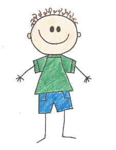 drawing of a child