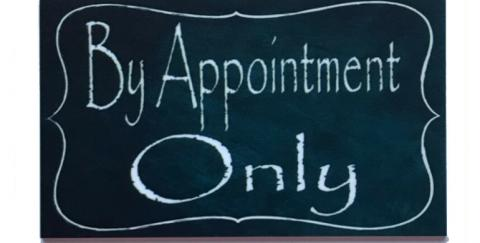 Image: Appointment Only