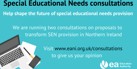 Special Educational Needs consultations infographic